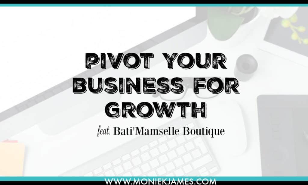 small business pivot